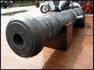 展示品! 全長2030mm巨大!大砲 砲金製?アジアンインテリア